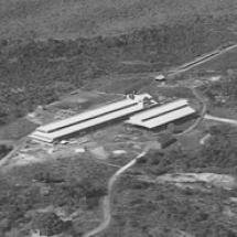 Zdjęcie lotnicze siedziby TUPY w 1954